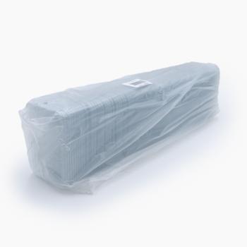 30012 100 pcs lids for deli-food containers 130x96x6 mm 3,5 g RPET transparent a