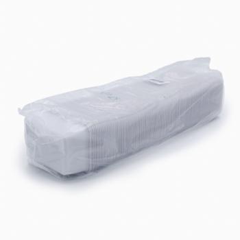 30210 100 pz vassoi gastronomia 125x91x47 mm 400 ml 6 g PP bianco