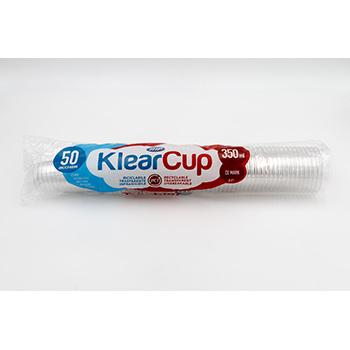 61223 50 pcs cups diam. 78 mm 350 ml 7,5 g PET transparent
