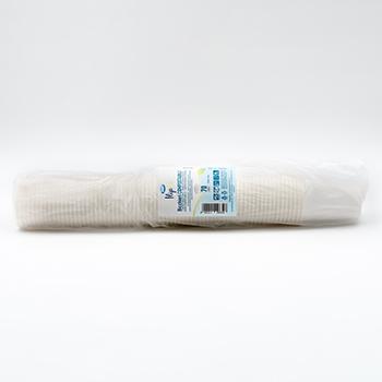 61319 70 pcs gobelets diam. 70 mm 180 ml 4,3 g NC blanc