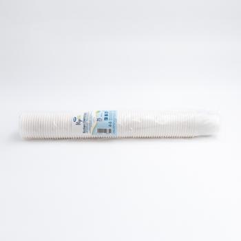61340 75 pz bicchieri diam. 62 mm 120 ml 3,2 g NC bianco