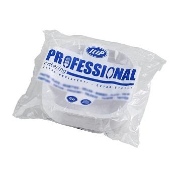 70440 50 pcs heat sealable trays 180x180x35 mm 16 g PP white