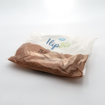 71022 25 pcs assiettes plates diam. 210 mm 16 g MATER-BI blanc