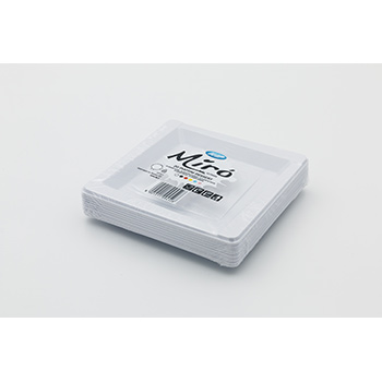 71095 20 pz piattini dessert diam. 165 mm 8 g PS bianco