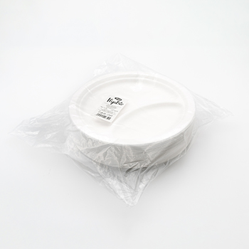 71128 50 pcs diam. 23 cm 15 g POLPA DI CELLULOSA blanc