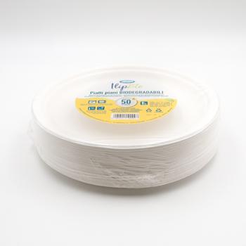 71186 50 pcs diam. 200 mm 20 g POLPA DI CELLULOSA blanc