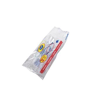 Confezione di 12 pz cucchiai 180 mm 5,2 g PS trasparente