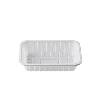 30223 120 pz vassoi gastronomia 230x157x46 mm 1150 ml 25 g PS bianco 25g