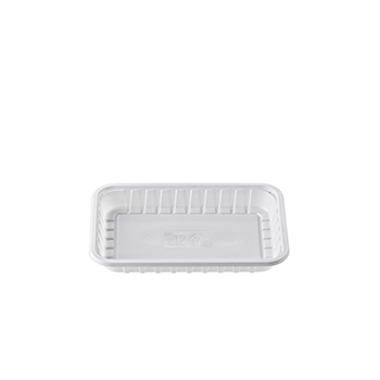30382 120 pz vassoi gastronomia 330x250x33 mm 2200 ml 52 g PS bianco 52g
