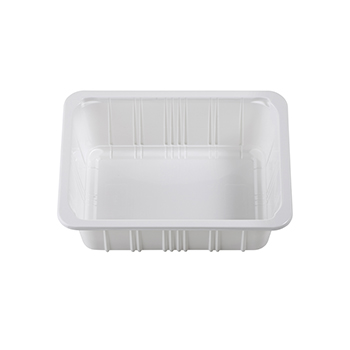 30393 312 pz vassoi gastronomia 190x144x63 mm 1140 ml 16 g PP bianco 16g