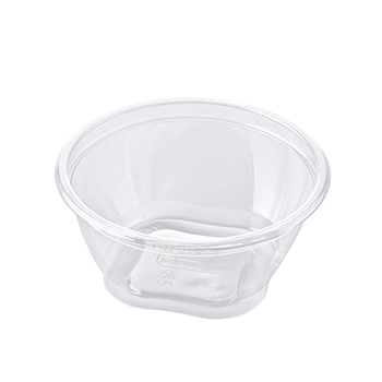 30467 55 pcs deli-food containers diam. 127 mm 470 ml 9,2 g RPET transparent