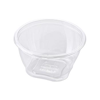 30468 55 pcs deli-food containers diam. 127 mm 570 ml 10,1 g RPET transparent
