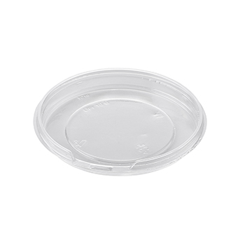 33 pcs lids for deli-food containers diam. 127 mm 5,5 g RPET transparent 5,500g