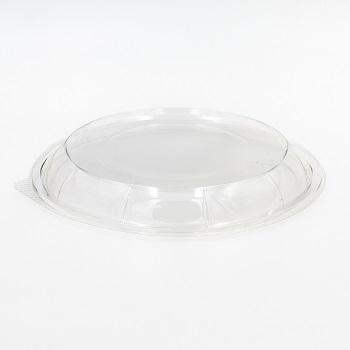 30588 50 pcs lids for deli-food containers diam. 218 mm 14,5 g RPET transparent
