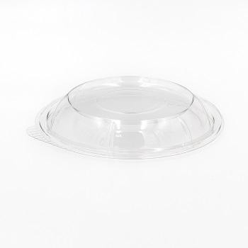 30589 50 pcs lids for deli-food containers diam. 166 mm 7,2 g RPET transparent