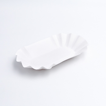 30620 50 pcs meal trays 190x110x30 mm 7,532 g NC white