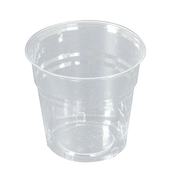 60007 50 pcs cups diam. 72 mm 170 ml 4 g PS transparent