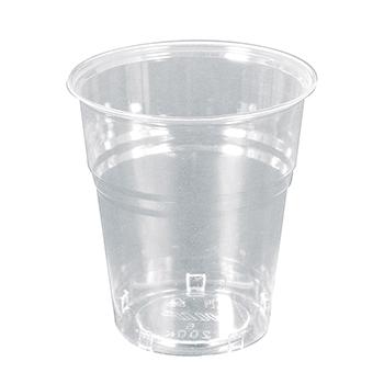 60011 50 pz bicchieri diam. 72 mm 200 ml 4,5 g PS trasparente