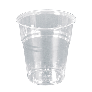 60012 24 pcs cups diam. 72 mm 200 ml 4 g PLA transparent
