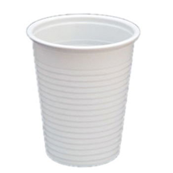 60020 100 pz bicchieri diam. 70 mm 200 ml 2,6 g PP bianco