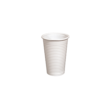 60024 100 pzs vasos diam. 70 mm 230 ml 2,4 g PP blanco