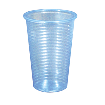 60025 100 pcs cups diam. 70 mm 230 ml 2,4 g PP sky blue