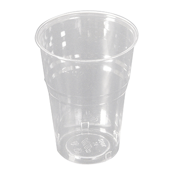 60038 50 pcs cups diam. 72 mm 250 ml 5,5 g PLA transparent