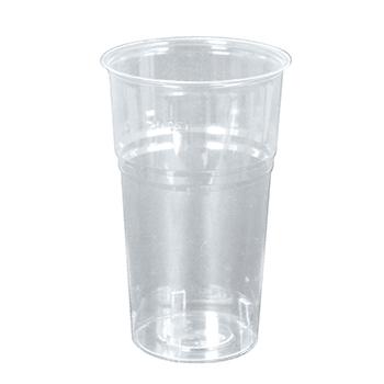60050 40 pz bicchieri diam. 72 mm 300 ml 7,5 g PS trasparente