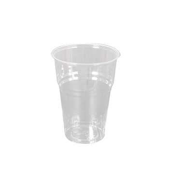 60057 50 pcs cups diam. 85 mm 400 ml 8,5 g PLA transparent
