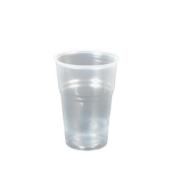 60063 50 pz bicchieri diam. 95 mm 575 ml 9 g PP trasparente