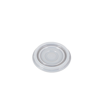 60075 100 pcs lid for cups diam. 70 mm 1,4 g PS white