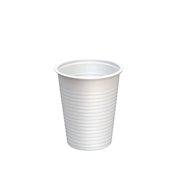 60078 25 pzs vasos diam. 70 mm 200 ml 2,6 g PP blanco