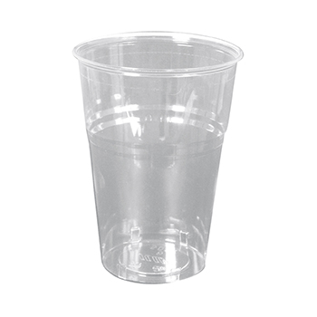 60202 30 pzs vasos diam. 95 mm 625 ml 12 g PLA transparente