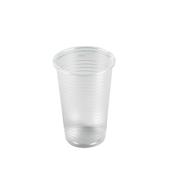 60321 100 pzs vasos diam. 70 mm 230 ml 2,4 g PP transparente