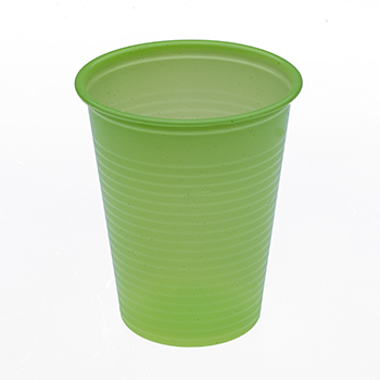 60444 50 pz bicchieri diam. 70 mm 200 ml 2,6 g PP verde