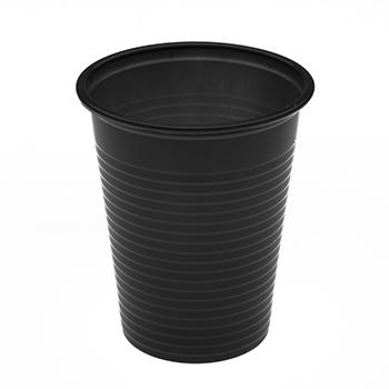 60445 50 pz bicchieri diam. 70 mm 200 ml 2,6 g PP nero