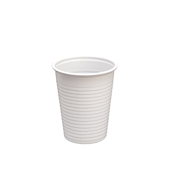 60469 100 pcs cups diam. 70 mm 200 ml 2,2 g PP white