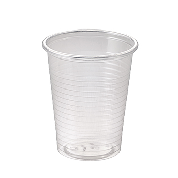 60502 100 pcs cups diam. 70 mm 200 ml 2,2 g PP transparent