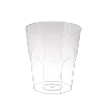 60657 20 pcs cups diam. 85 mm 270 ml 18,4 g PS transparent