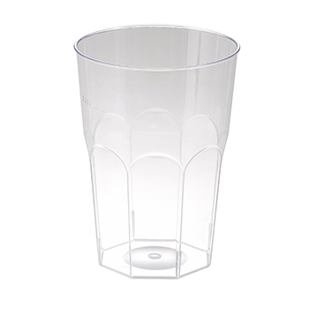 60659 20 pcs cups diam. 84 mm 400 ml 24 g PS transparent