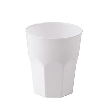60661 20 pz bicchieri diam. 70 mm 250 ml 15,79 g PP bianco