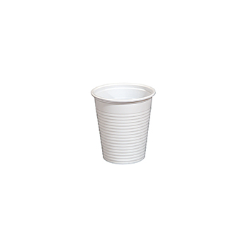 60756 100 pcs cups diam. 70 mm 170 ml 2,1 g PP white