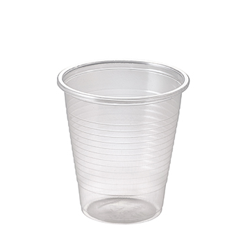 61602 50 pzs vasos diam. 70 mm 170 ml 2,1 g PLA transparente
