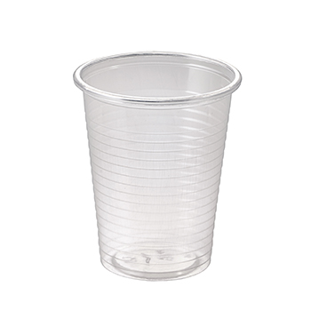 60786 100 pcs cups diam. 70 mm 200 ml 2,2 g PP transparent