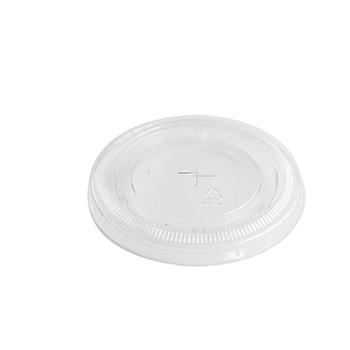 61702 50 st deckel für becher diam. 78 mm 2,2 g PLA transparent