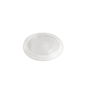 50 pcs lid for cups diam. 99,4 mm 3,155 g PET transparent
