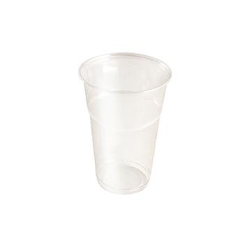 60886 20 pcs cups diam. 85 mm 400 ml 8,5 g PET transparent