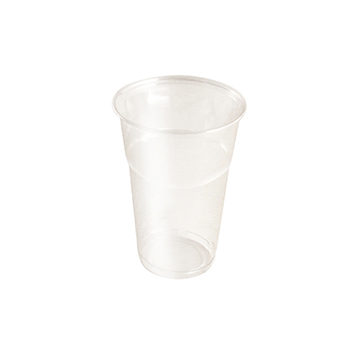 61431 20 pzs vasos diam. 85 mm 400 ml 7,7 g PLA transparente