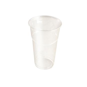60887 50 pcs cups diam. 85 mm 500 ml 9,5 g PET transparent