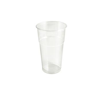 60890 50 pz bicchieri diam. 95 mm 650 ml 12 g PET trasparente